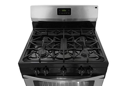 Kenmore 2273433 4.2 ft. Freestanding Gas Range in Stainless delivery and hookup