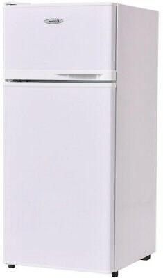 Costway 3.4 cu. ft. Unit Compact Mini Fridge Freezer Cooler