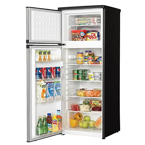 "Danby DPF073C1BSLDD 22"" Top Freezer Refrigerator with 7.3 cu. ft. in"
