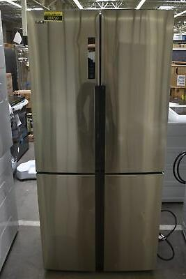 hrq16n3bgs 33 stainless french door refrigerator nob