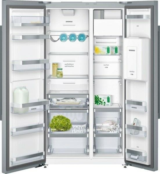 ka92dai30 cool combi fridge freezer side by