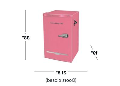 New 3.2 Cu. Pink Compact Office