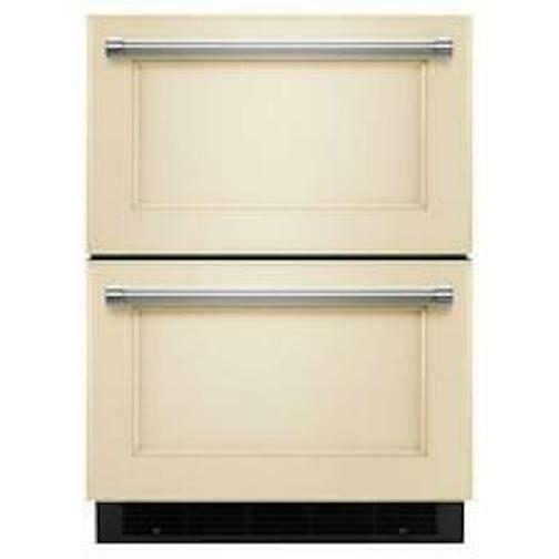 new kudr204epa 24 panel ready double refrigerator