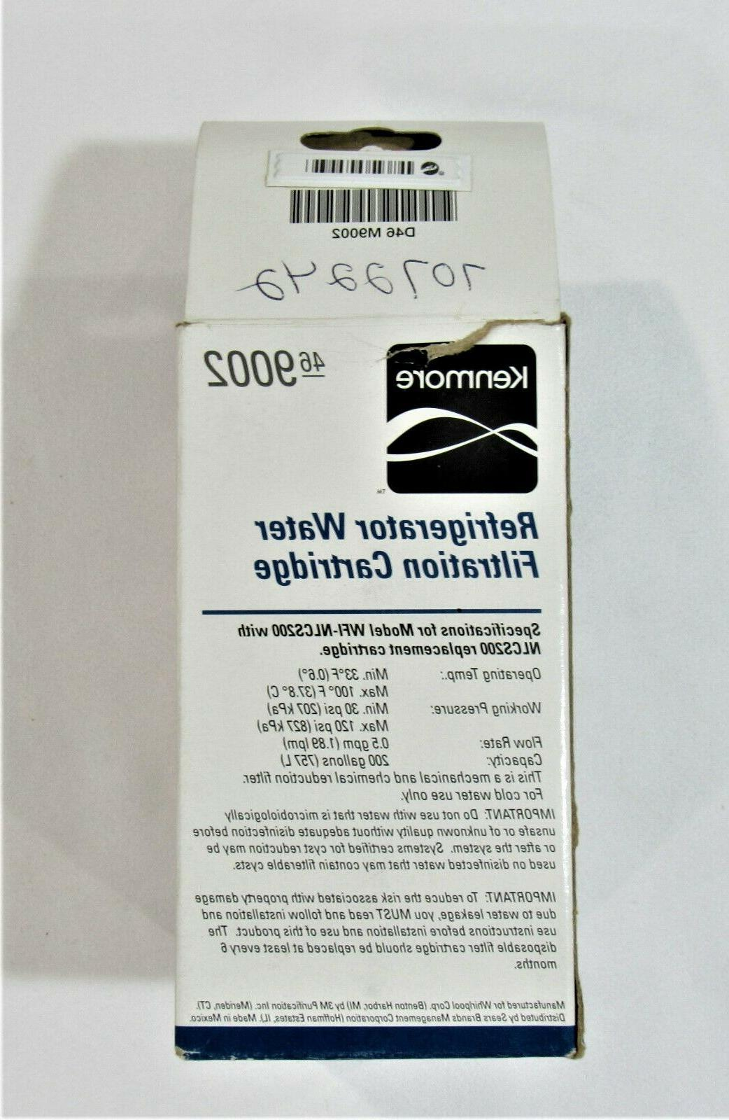 New Kenmore Refrigerator Water Filter w/Docs