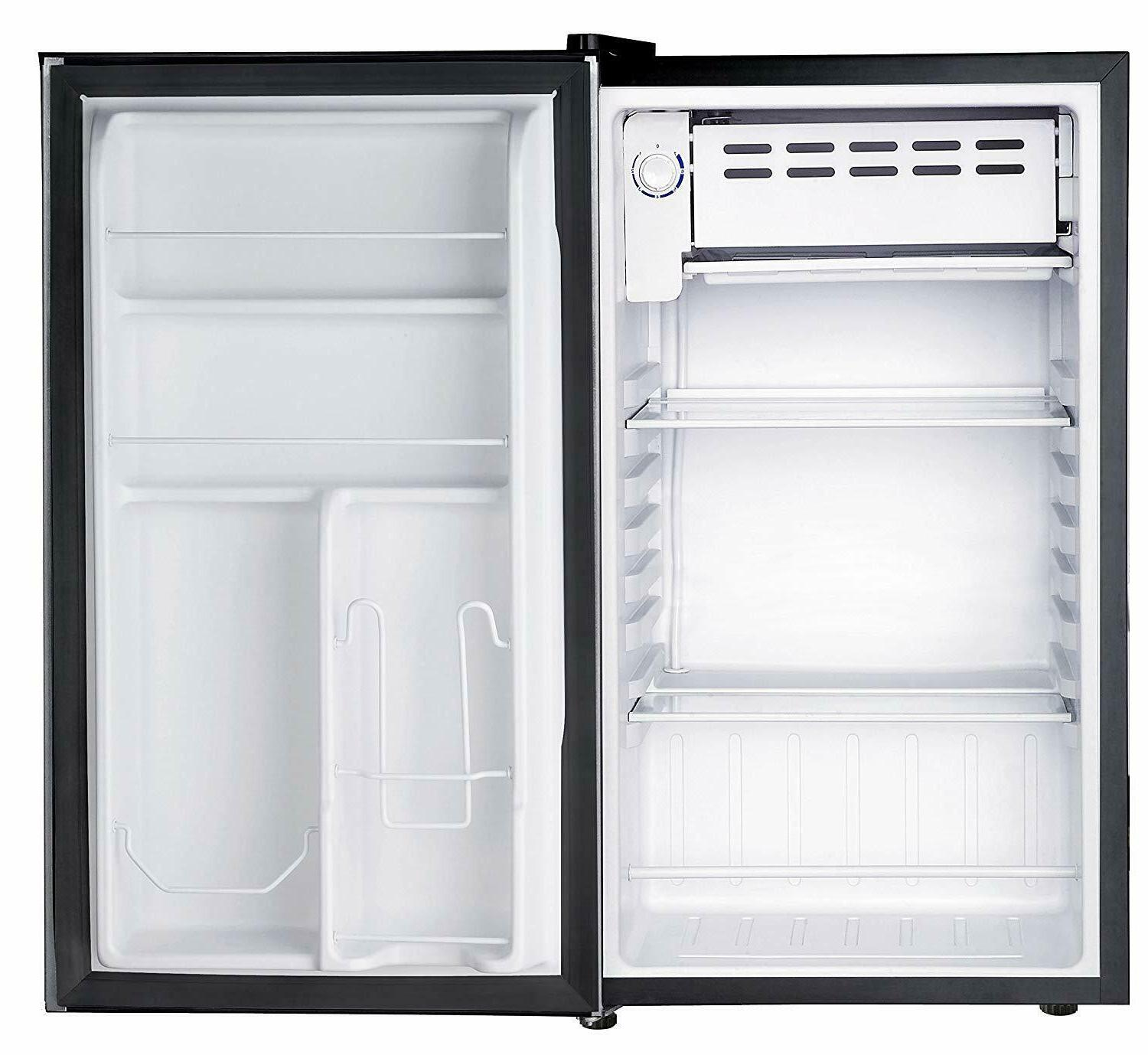 RCA RFR321-FR320/8 IGLOO Refrigerator, 3.2 Fridge, Steel