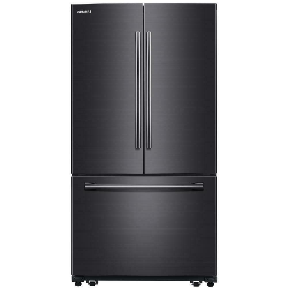 rf260beaesg 36 black stainless french door refrigerator