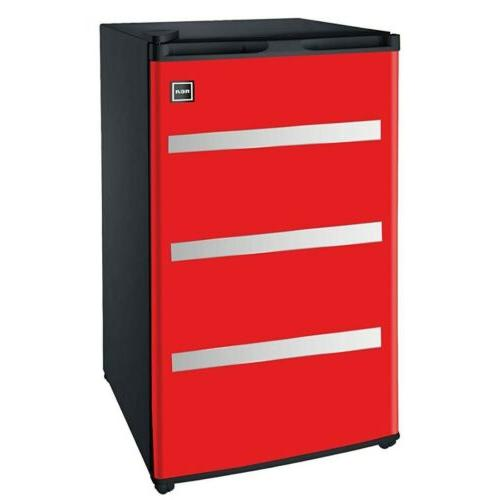 Igloo FR329-Red Garage Fridge Tool Box, 3.2 Cubic Feet, Red
