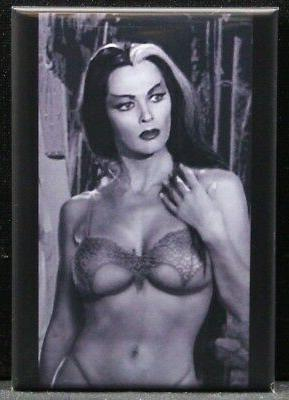 sexy lily munster pinup 2 x 3