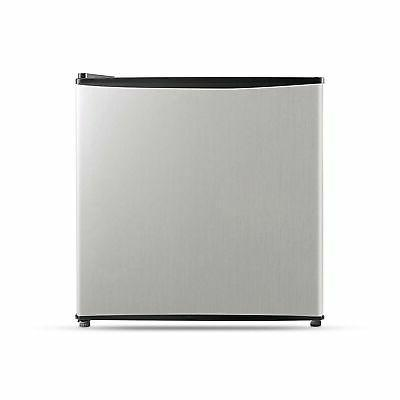 Single Reversible Door Refrigerator and Freezer, 1.6 Cubic F