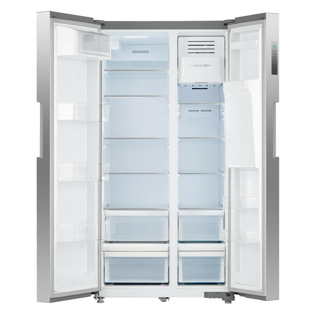 Smad 26 Side-by-Side Refrigerator Freezer Stainless Steel US