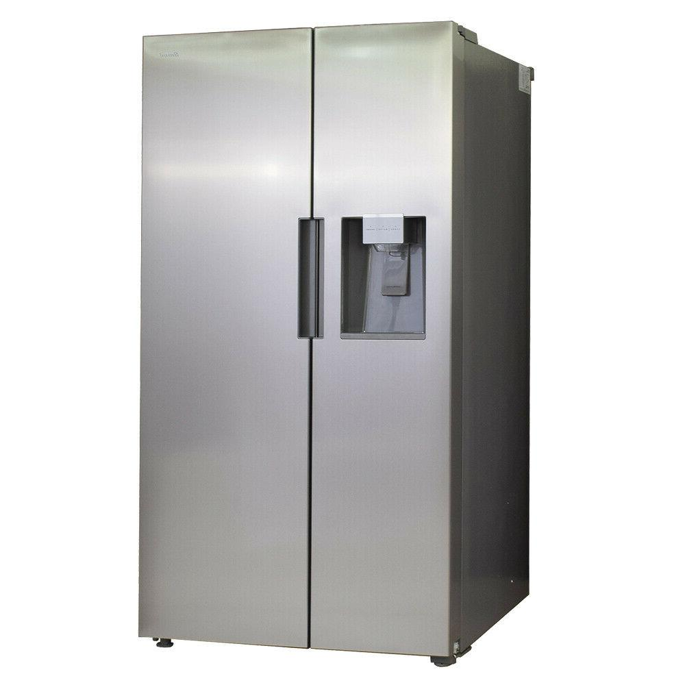 Smad Cu Side-by-Side Freezer Stainless Steel