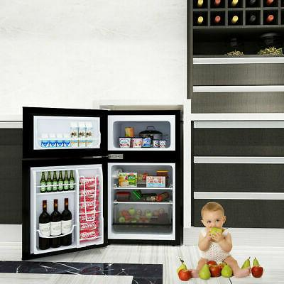 Stainless Refrigerator Freezer Compact 3.2