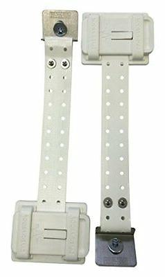 Safe-T-Proof STP-MP-202-16-WH Refrigerator Fastening Kit, Wh
