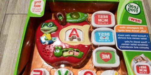 LeapFrog Tad's Magnetic Letter Toy