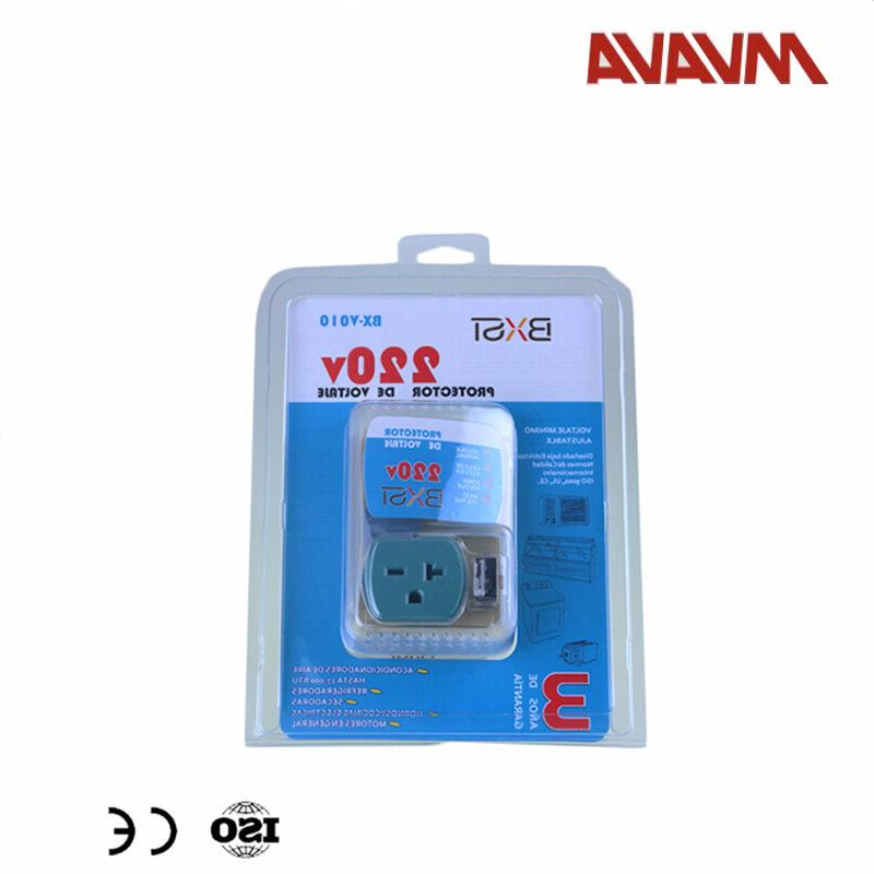 US Refrigerator Appliance Surge Protector Voltage Brownout O
