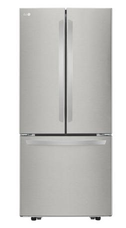 """LG LFCS22520S Stainless French Door Refrigerator 30"""" WIDTH"""