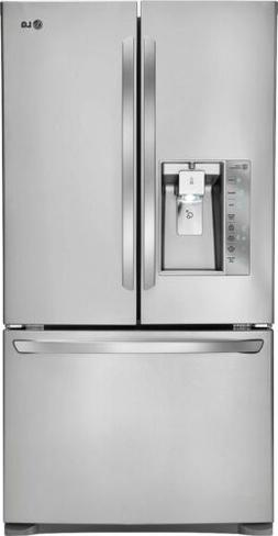 LG LFXC24726S French Door Refrigerator, 24.0 Cubic Feet, Sta