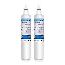 ICEPURE LT600P Replacement Refrigerator Water Filter, Compat