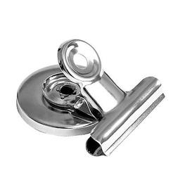 1.25 Inch Magnetic Bulldog Clip, Office/Refrigerator Magnet