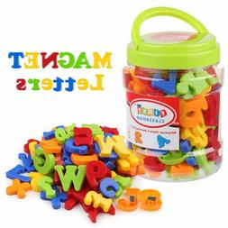 Coogam Magnetic Letters Numbers Alphabet Fridge Magnets Colo