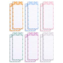 Juvale to-do-List Notepad - 12-Pack Magnetic Notepads, Groce