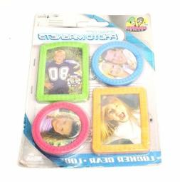 Locker Dudes Magnetic Picture Photo Frames for Refrigerator