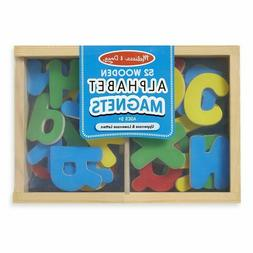 Melissa & Doug Magnetic Magnetic Wooden Alphabet Set Small 5