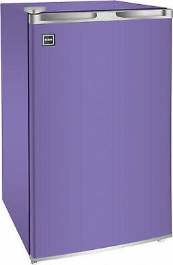 Mini Fridge Purple RCA 3.2 Cu Ft Single Door Compact Beverag