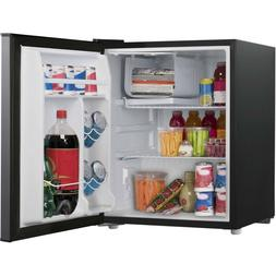 Mini Fridge with Freezer Refrigerator Dorm Room Party Cooler