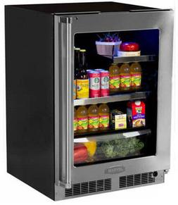 Marvel MP24BRG3LS 24 Inch stainles Beverage Center with 2 Gl