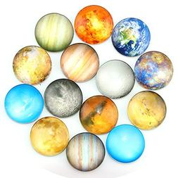 Ktdorns Planetary Fridge Magnets -14 Pack Refrigerator Magne