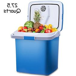 COSTWAY 26L Portable Electric Cooler Fridge Food Warmer Digi