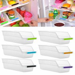 Refrigerator Drawer Organizer Freezer Storage Bins Collectin