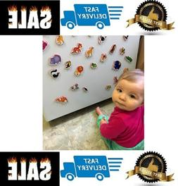 Refrigerator magnets for kids ZOO - 29 Foam magnets for todd
