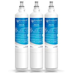 Waterdrop Refrigerator Water Filter, Compatible with LG LT60