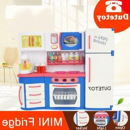 Dutetoy Small refrigerator simulation electric small applian