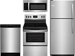 Frigidaire 4-Piece Stainless Steel Kitchen Package With FFTR