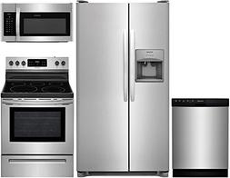 Frigidaire 4-Piece Stainless Steel Kitchen Package with FFSS