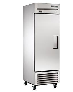 True T-23-HC Reach-In Solid Swing Door Refrigerator with Hyd