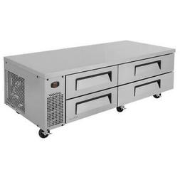 Turbo Air - TCBE-72SDR-N - 4-Drawer 72 in Stainless Steel Ch