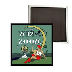 THE NEW MOON VINTAGE FRIDGE MAGNET BUY TWO GET ONE FREE -- F