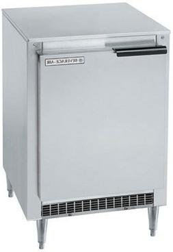 "Beverage Air UCR20Y Undercounter Refrigerator 20"" Single Sec"