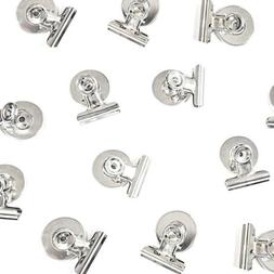 8 Strong Refrigerator Magnet Hook Clips with Neodymium Magn