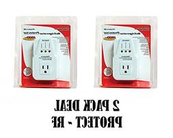 2 Pack Voltage Protector Brownout Surge Refrigerator 1800 Wa