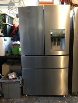 Whirlpool WRX735SDBM Stainless Steel 25 Cu Ft French-Door Re